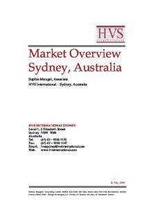 Market Overview Sydney, Australia