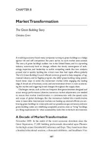 Market Transformation