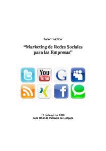 Marketing de Redes Sociales para las Empresas