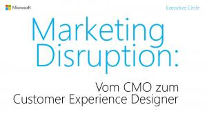 Marketing Disruption:
