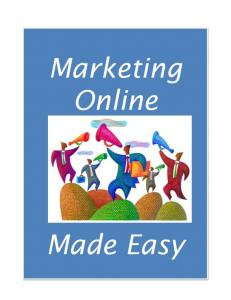 Marketing Online. Made Easy