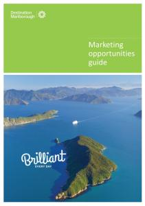 Marketing opportunities guide