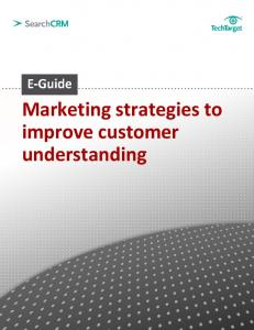 Marketing strategies to improve customer understanding