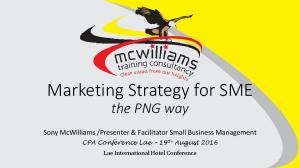 Marketing Strategy for SME