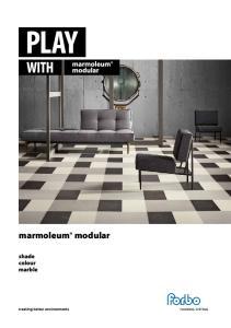 marmoleum modular shade colour marble