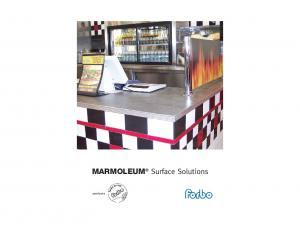 MARMOLEUM Surface Solutions. specify with