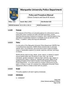 Marquette University Police Department
