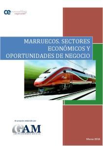 MARRUECOS. SECTORES ECONÓMICOS Y OPORTUNIDADES DE NEGOCIO