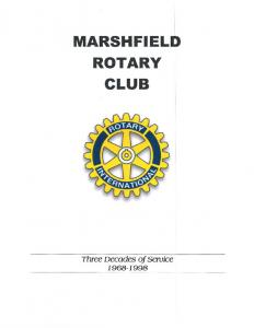 MARSHFIELD ROTARY CLUB