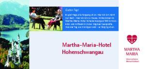 Martha-Maria-Hotel Hohenschwangau