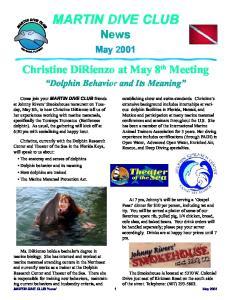MARTIN DIVE CLUB News 1