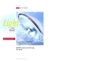 MARTIN lighting technology ML series