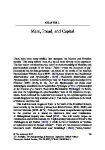 Marx, Freud, and Capital