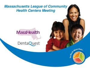 Massachusetts League of Community Health Centers Meeting