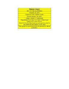 Massey v Anand 2011 NY Slip Op 30490(U) February 23, 2011 Supreme Court, Suffolk County Docket Number: Judge: Joseph C