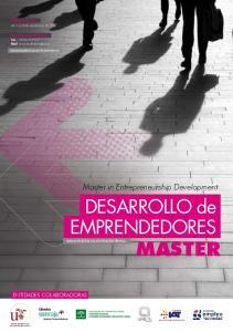 MASTER. DESARROLLO de EMPRENDEDORES. Master in Entrepreneurship Development. DESARROLLO de EMPRENDEDORES MASTER ENTIDADES COLABORADORAS
