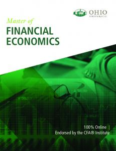 Master of FINANCIAL ECONOMICS