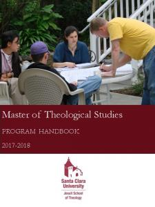 Master of Theological Studies PROGRAM HANDBOOK