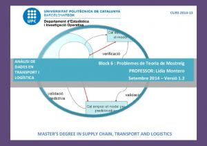 MASTER S DEGREE IN SUPPLY CHAIN, TRANSPORT AND LOGISTICS