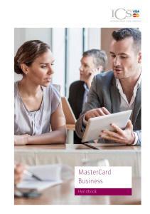 MasterCard Business. Handbook