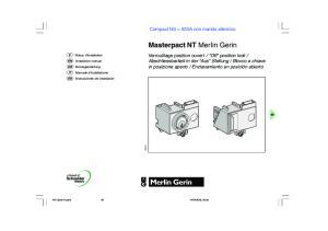 Masterpact NT Merlin Gerin