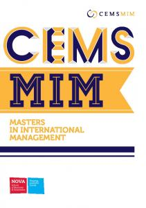 MASTERS IN INTERNATIONAL MANAGEMENT