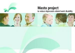 Masto project to reduce depression-related work disability. Finland