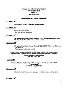 MAT103. Revised Spring Course Assignments -