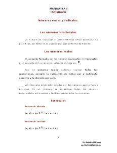 MATEMATICA II Resumen