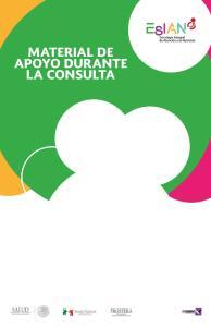MATERIAL DE APOYO DURANTE LA CONSULTA