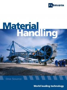Material. Handling. World leading technology