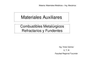 Materiales Auxiliares