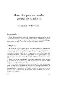 Materiales para un estudio general de la gaita (11