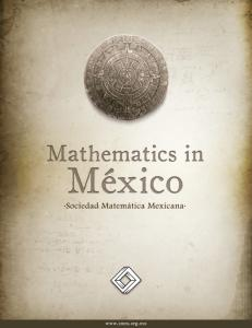MATHEMATICS IN MEXICO