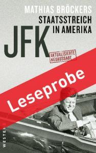 MATHIAS BRÖCKERS JFK STAATSSTREICH IN AMERIKA