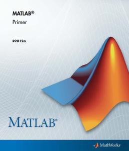 MATLAB Primer. R2012a
