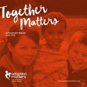 Matters. Achievement Report