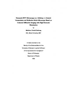 Matthew Donald Seaberg. B.S., Bethel University, A thesis submitted to the. Faculty of the Graduate School of the