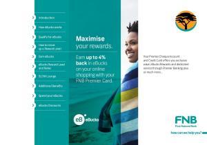 Maximise your rewards