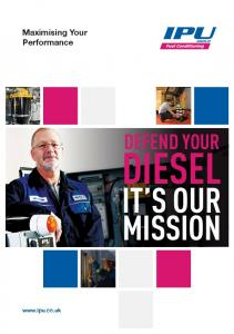 Maximising Your Performance DEFEND YOUR DIESEL IT S OUR MISSION