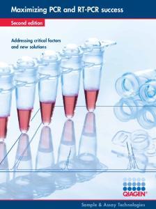 Maximizing PCR and RT-PCR success