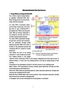 Maximizing Sintering Plant Heat Recovery