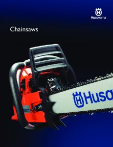 Maximum power & performance with our most advanced chainsaws