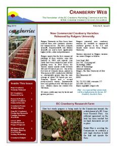 May 2010 Volume 4, Issue 3