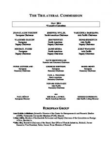 MAY 2014 *Executive Committee