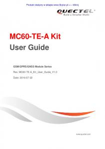MC60-TE-A Kit User Guide