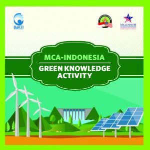 MCA-INDONESIA GREEN KNOWLEDGE ACTIVITY
