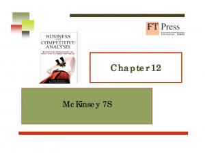 McKinsey 7S. Chapter 12