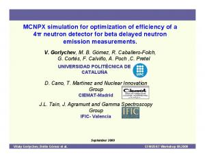 MCNPX simulation for optimization of efficiency of a 4π neutron detector for beta delayed neutron emission measurements