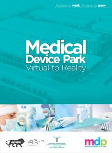 mdp A place to work, A place to grow medical device Facilitated by